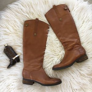 Sam Edelman Penny Leather Riding Boots 7